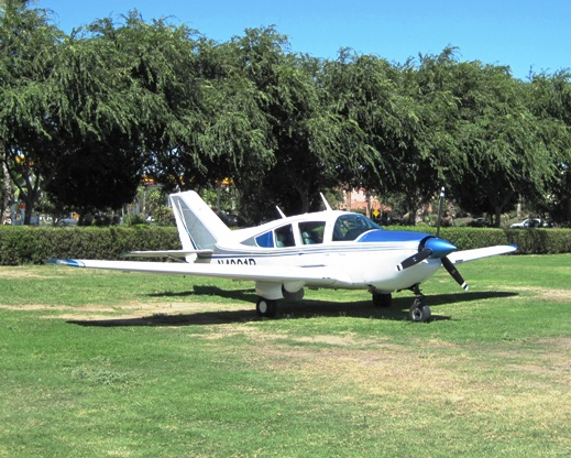 Bellanca Super Viking at Harris Ranch
