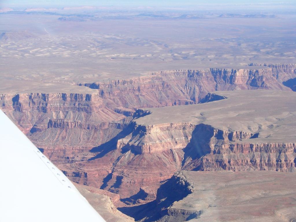 Landing At Marble Canyon Airport