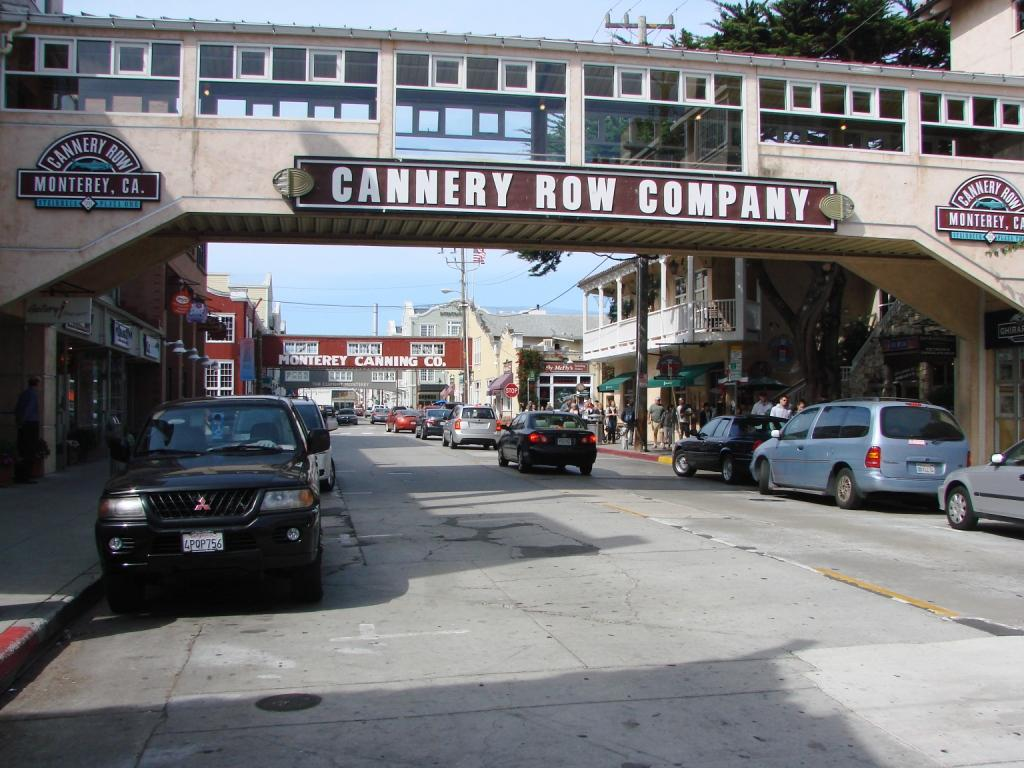 "cannery row imagery As 1945 began, steinbeck's cannery row was published, and with it, the now-famous imagery that begins his novel: ""cannery row in monterey in california is a poem, a stink, a grating noise, a quality of light, a tone, a habit, a nostalgia, a dream."