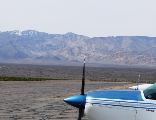 Bellanca Super Viking N4201B in Death Vally CA