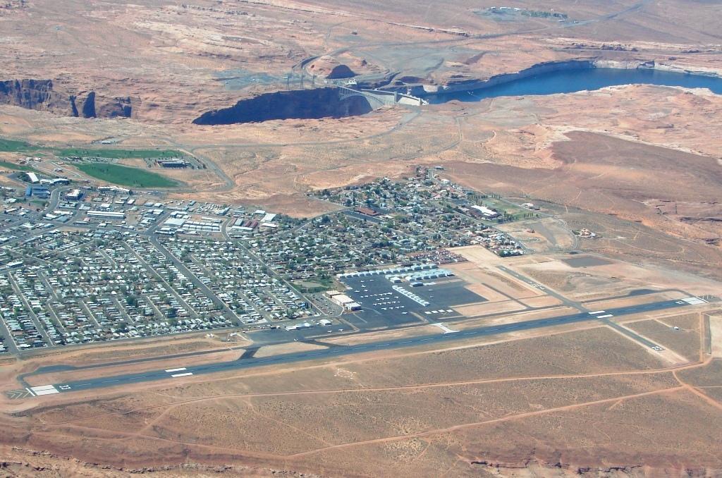 Landing At Page Arizona